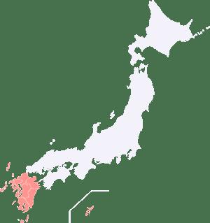 九州沖縄地図